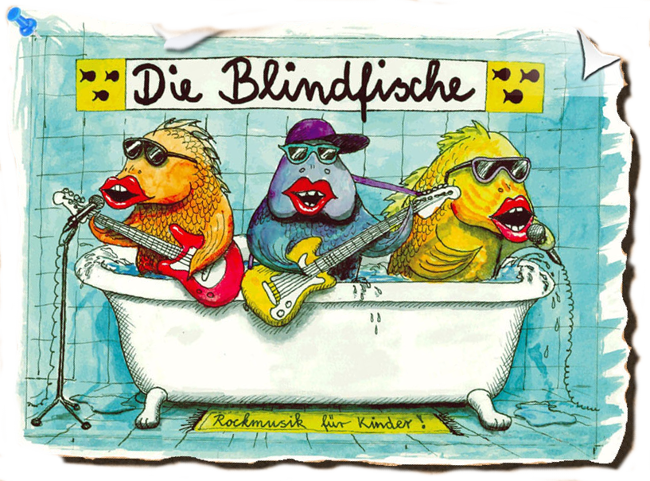 Die Blindfische Rockmusik Für Kinder Rockmusik Für Kinder